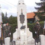Megemlékezés 2019. szeptember 27-én a Sopron melletti Ágfalván Baracsi László emlékművénél.